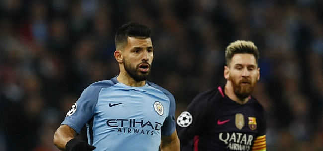 Foto: Agüero dropt belangrijke hint over transfer Messi