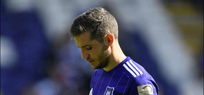 Foto: Nieuwe zware klap voor Anderlecht-speler