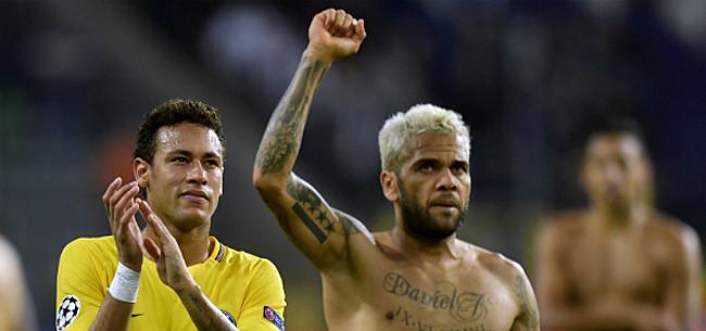 Foto: Alves zag sterren tegen RSCA'er: