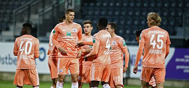 Foto: Anderlecht levert wanprestatie: