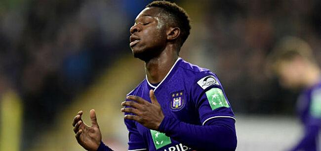 Foto: 'Anderlecht moet zich haasten: drie clubs kloppen aan voor Amuzu'