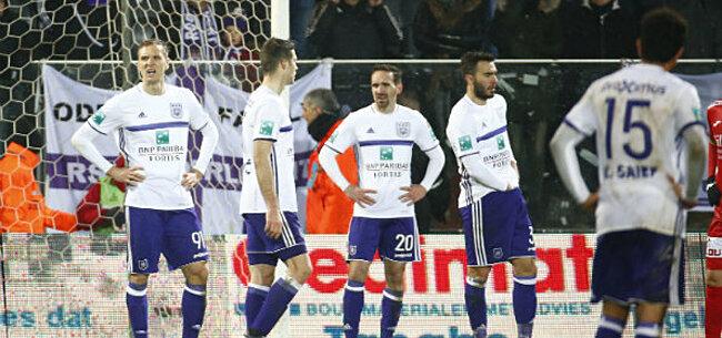 Foto: Anderlecht-spelers weten het niet meer: