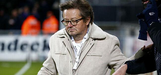 Foto: Anderlecht-fans komen met harde actie tegenover Coucke en bestuur