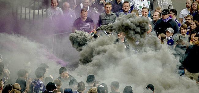Foto: Fans van Anderlecht plannen ludieke protestactie tegen AA Gent