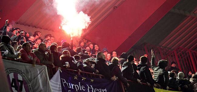 Foto: RSCA-hooligans houden weer lelijk huis tegenover Standard