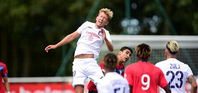 Foto: Ellende bij Anderlecht: