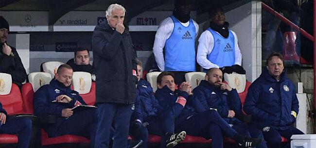 Foto: OFFICIEEL: Anderlecht stelt alweer nieuwe coach aan