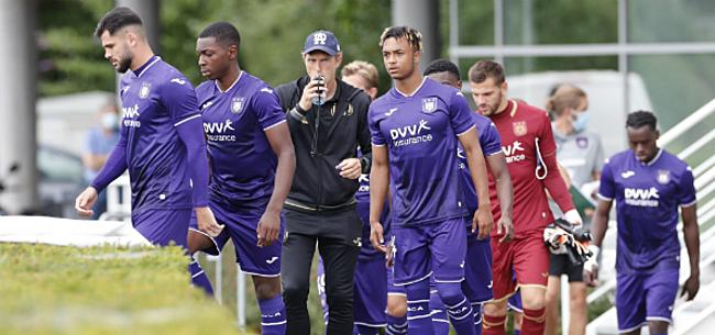 Foto: Anderlecht legt oefenderby vast, goed nieuws voor fans