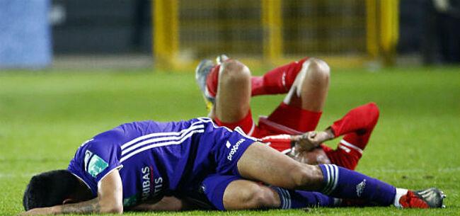 Foto: Anderlecht ziet Najar opnieuw zware blessure oplopen