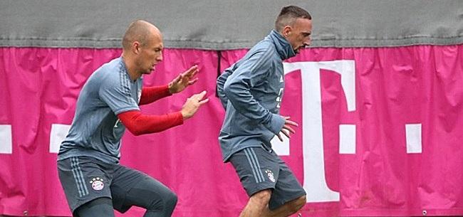 Foto: 'Robben en Ribéry kunnen naar dezelfde club transfereren'