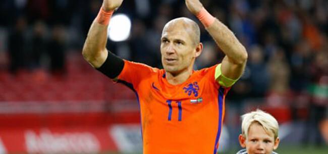 Foto: Balende Robben geeft toe: