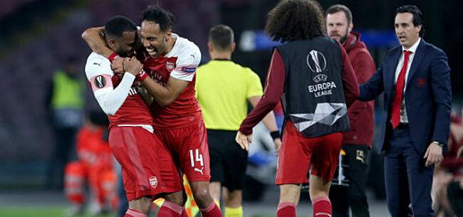 Foto: EL: Mirakel voor Mertens en Napoli blijft uit, Hazard beeft naar halve finale