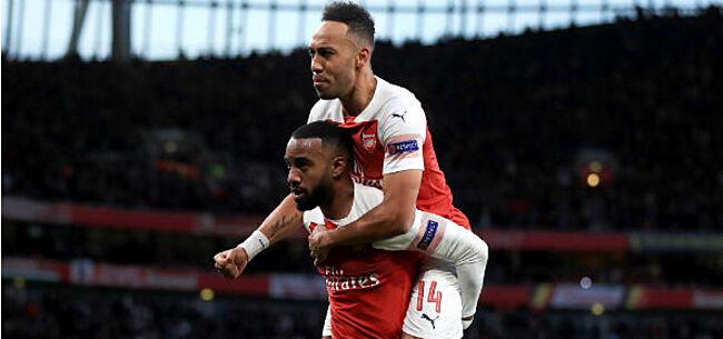 Foto: Arsenal en Chelsea zetten flinke stap richting Europa League-finale