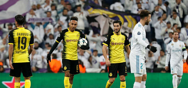 Foto: Aubameyang stift Dortmund langszij Real Madrid (VIDEO)