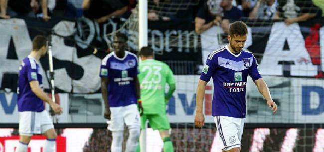 Foto: Anderlecht krijgt veeg uit de pan: