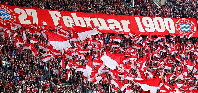 Foto: Fans Bayern doen tegen PSG opnieuw van zich spreken