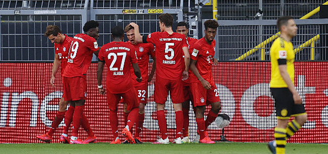 Foto: Bayern München wint topper en telt Dortmund wellicht uit voor de landstitel