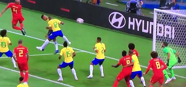 Foto: België met heerlijke 0-2-voorsprong de rust in: