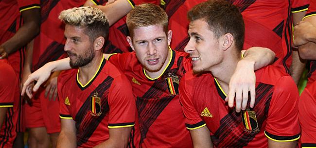 Foto: De Bruyne & co blinken uit in opvallende teamactiviteit Rode Duivels