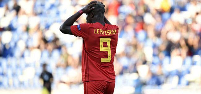 Foto: EK Belgische U21 voorbij na pijnlijke nederlaag tegen Spanje