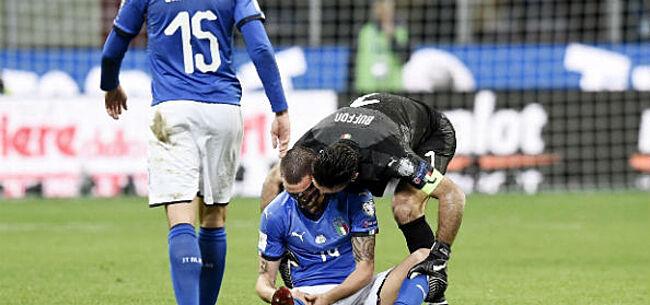Foto: 'Enorme rel bij Italië en na Buffon haken nog drie spelers af'