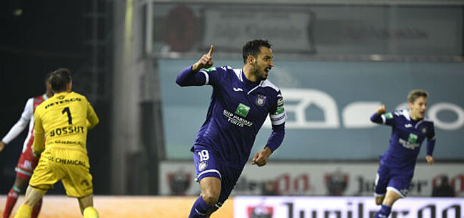 Foto: Chadli en Roofe bezorgen Anderlecht zege in draak van een wedstrijd