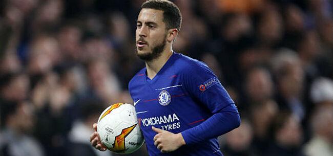Foto: EL: Hazard schiet Chelsea naar finale, Arsenal de tegenstander