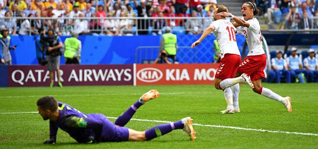Denemarken En Australie Houden Elkaar In Evenwicht Na Interessante Pot Voetbal