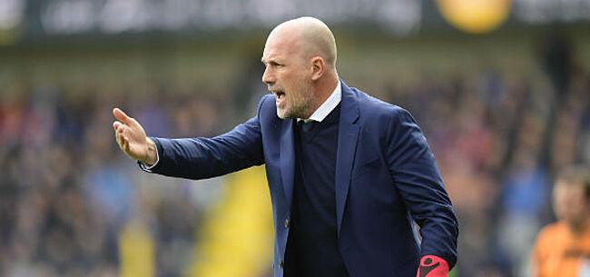 Foto: Club Brugge lijdt zeldzame nederlaag in oefenwedstrijd