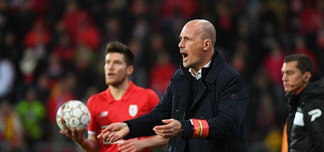 Foto: Clement reageert op uithaal Waasland-Beveren