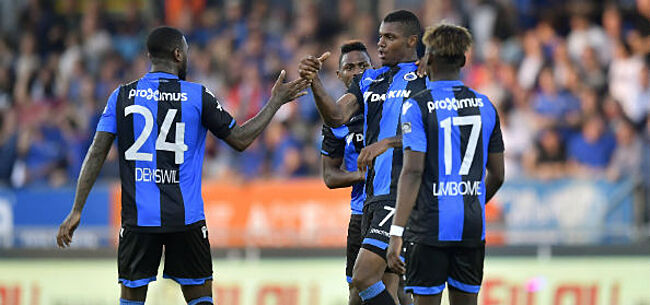 Foto: Club Brugge-speler maakt indruk tegen KVO:
