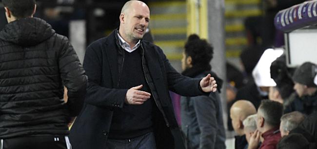 Foto: Clement waarschuwt spelersgroep: