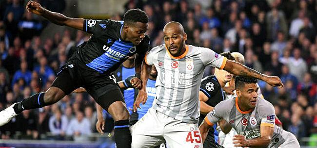 Foto: 'Galatasaray gehavend in sleutelmatch tegen Club Brugge'
