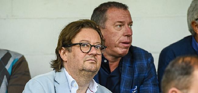 Foto: Charleroi-fans weigeren verplaatsing naar de kust