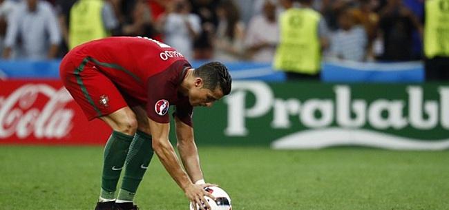 Foto: TV-station duikt 'Ronaldo-microfoon' op en komt met mooi idee