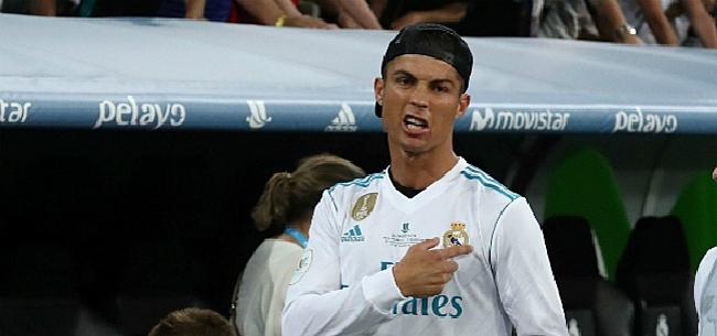 Foto: OEPS! Ronaldo geeft duidelijke hint over transferwens