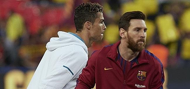 Foto: Ronaldo laat zich uit over rivaal Messi: