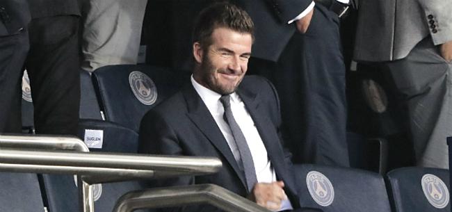 Foto: 'Beckham gaat heel de voetbalwereld verbazen met enorme stunt'