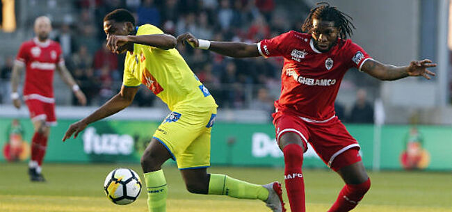 Foto: David versus Mbokani: de twee beste aanvallers in de Jupiler Pro League