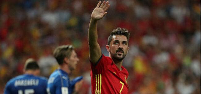 Foto: UPDATE: David Villa verrast iedereen met nieuwe club