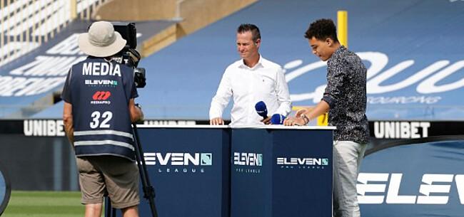 Foto: Eleven Sports kan kijkers nog niet bekoren: