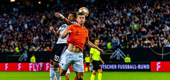 Foto: Nederland stunt bij Duitsland, Kroatië wint makkelijk