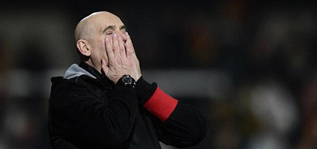 Foto: KVM-verdediger trapt na op Van Wijk: