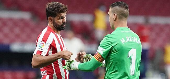 Foto: Atlético verslikt zich zonder Carrasco tegen Celta de Vigo