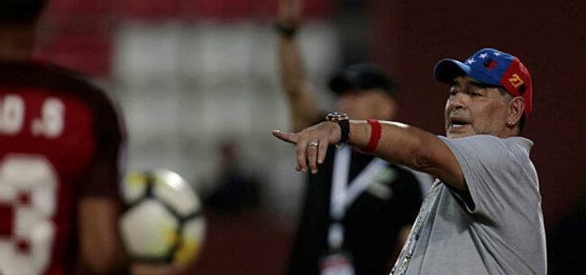 Foto: OFFICIEEL: Maradona kiest voor wel heel opvallende nieuwe uitdaging