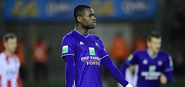 Foto: Anderlecht neemt definitieve beslissing omtrent blessure Dimata