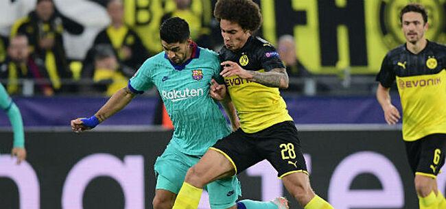 Foto: Witsel overladen met lof na knalprestatie tegen Barça: