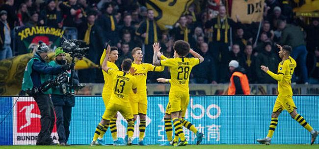 Foto: Dortmund wint weer na assist van Witsel en goal van fenomeen Haaland