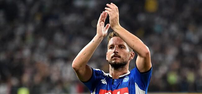 Foto: 'Napoli wil nog stevige som voor Mertens, AC Milan haakt af'