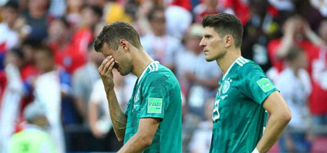 Foto: Zo wordt er gereageerd op de verrassende uitschakeling van Duitsland